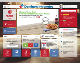 Domino's Sosyal Intranet